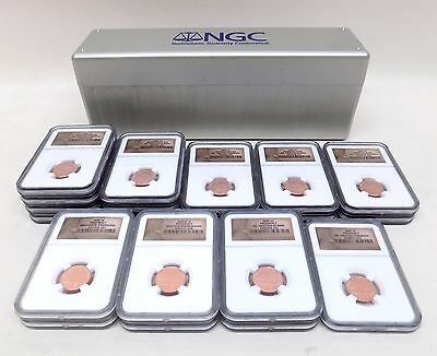 20X 2009 COIN LOT 1C Penny Lincoln Professional Life Presidency Formative NGC
