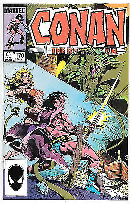 Conan the Barbarian #170 (Marvel 1985 vf+ 8.5) Michael Fleisher & John Buscema