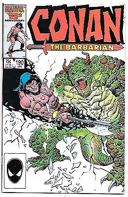 Conan the Barbarian #190 (Marvel 1987 vf+ 8.5) by Jim Owsley & John Buscema