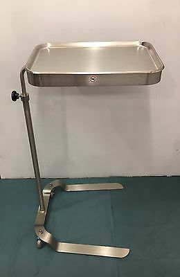 "Mayo Stand Blickman Adjustable Height Tray Size 12.5/8"" x 19.1/8"""