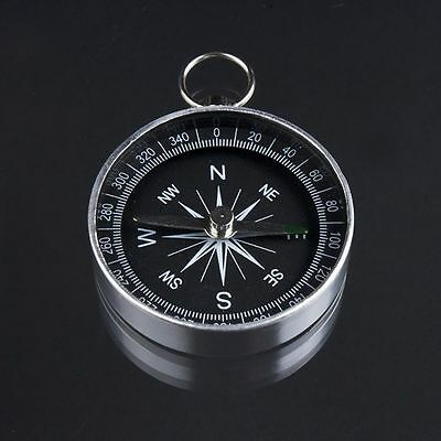 Travel Lightweight Aluminum Compass Navigation Wild Survival Tool Professional
