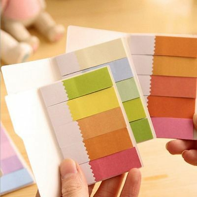 Paste Bookmark Rainbow Index Tab Sticky Notes Office Accessories Marker Flags