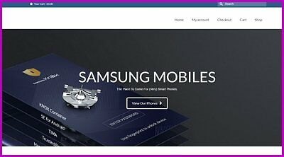 SAMSUNG PHONES Website|Upto £61.67 A SALE|FREE Domain|FREE Hosting|FREE Traffic