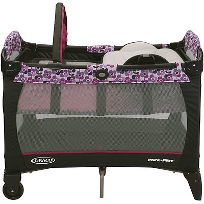 Graco Pack 'N Play Playard with Reversible Napper and Changer, Pammie New