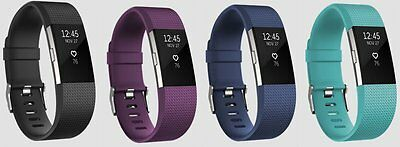 Fitbit Charge 2 Heart Rate & Fitness Wristband - Activity tracker / Monitor