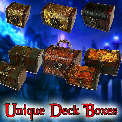 UNIQUE DECK or DICE BOX | Card Games, Yu-Gi-Oh, Magic the Gathering MTG, Pokemon