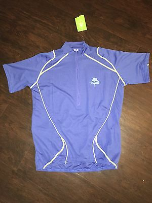 CANARI PACELINE CYCLING Jersey Mens Small SM S Short Sleeve Blue ... 41286512d