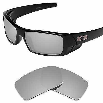 Tintart Polarized Replacement Lenses for-Oakley Gascan Silver Metallic (STD)