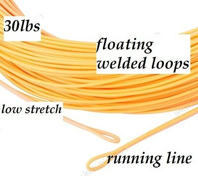 30lb CONNECT CORE / LOW STRETCH / RUNNING LINE with Handling section / two tone