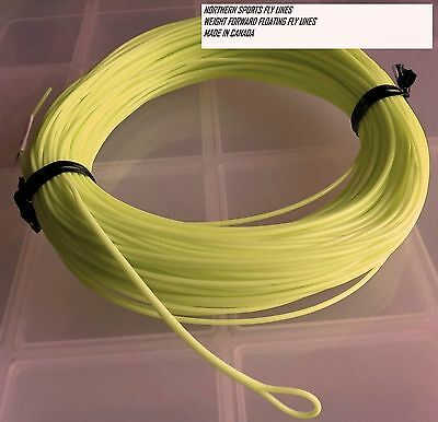 WF-4-F FLY LINE (nymph taper) WITH LOOP Northern Sports Made in Canada