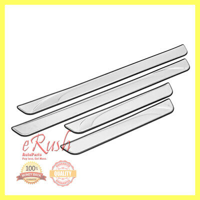 For 2014 2015 2016 Toyota Corolla Scuff Plate Door Sill Sills Stainless Steel Us