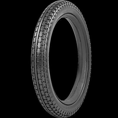 "Metzeler 3/8"" White Wall Vintage Motorcycle Tire 200-17"