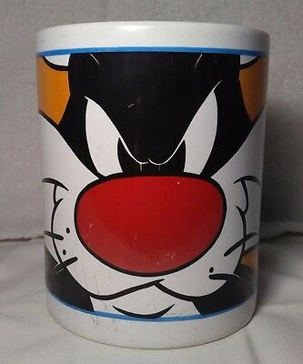 Sylvester The Cat Mug Coffee Cup Warner Brother Looney Tunes 2000 Collectible