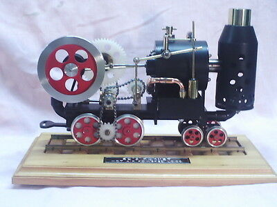 """""""Ed's Rocket """" Model Hot Air Engine -WORKING -POSTAGE AVAILABLE"""