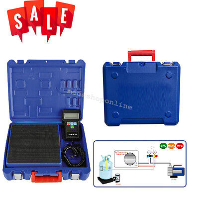 Durable Digital Electronic Refrigerant Charging Scale 220 lbs for HVAC With Case
