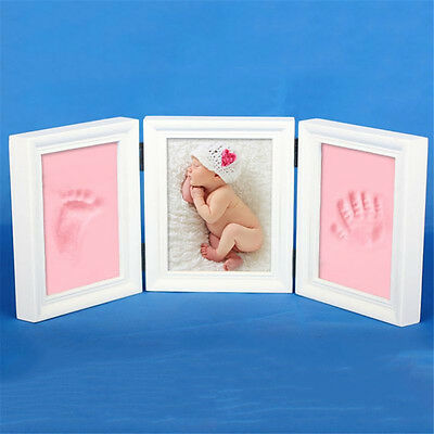 DIY Baby Casting Kit Pink Clay Hand Foot Print Cast Set Baby Shower Gift