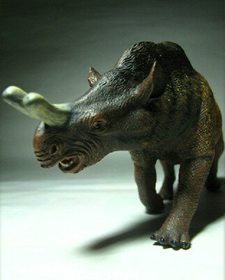 2012 New Collecta Dinosaur Toy / Figure Megacerops (1 : 40)