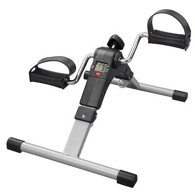 Foldable Mini Pedal Exerciser Bike Leg Arm Fitness Exercise Cycle Indoor Gym