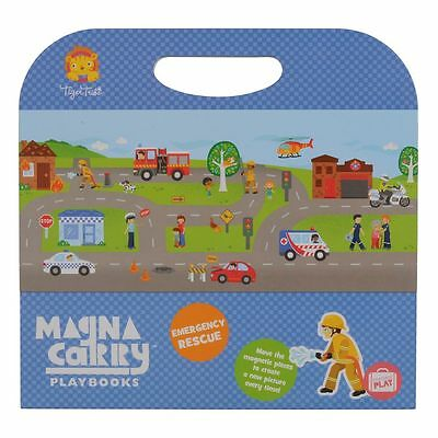 Tiger Tribe Magna Carry Emergency Rescue, Magnetic toys, Travel Toys