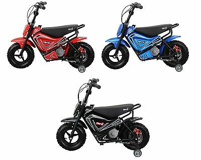 Revvi electric kids bike motorbike motorcycle mini moto 24v 250w battery powered