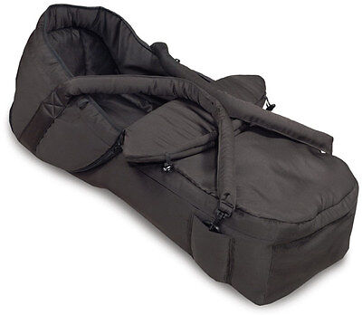 Hauck Carrycot Tragenest Soft Tragetasche 2 in 1 - Black - ideal für Roadster