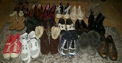 USED Resale Lot 16 Men &women Shoes Wholesale Nike,ugg,Jack percell,Kenneth cole
