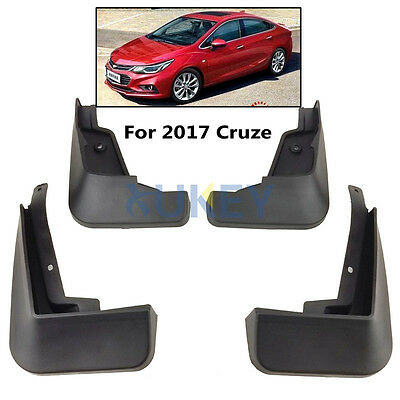 Set Molded Mud Flaps Fit For Chevrolet Cruze 2016 2017 Splash Guards Mudguards