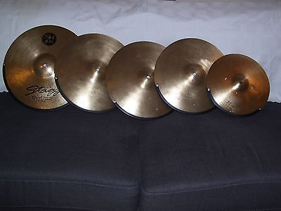 CUSTOM BUILT ELECTRONIC CYMBALS(5) for Roland modules.