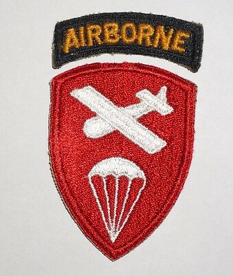 Airborne Command With Tab WWII US Army Patch P3971