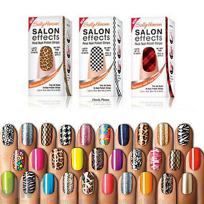 Sally Hansen Salon Effect Real Nail Polish Strips~BUY 3 GET 1 FREE~FREE SHIPPING