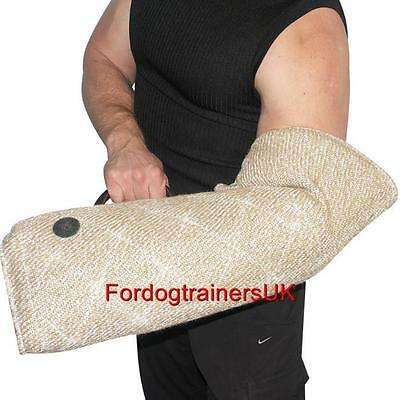 Soft Puppy Bite Sleeve | Jute Puppy Sleeve for German Shepherd Puppy Training K9