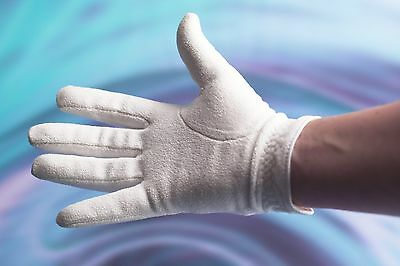 L@@k Ladies White Right Hand Fleece Sports Glove Only £3.95 + Free P&p