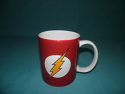 2011  The Flash Dc Comics Ceramic Coffee Mug Cup Classic Logo