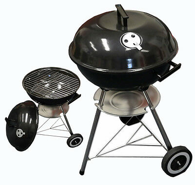 Kettle Barbecue BBQ Grill Outdoor Charcoal Patio Party Portable Round Standard