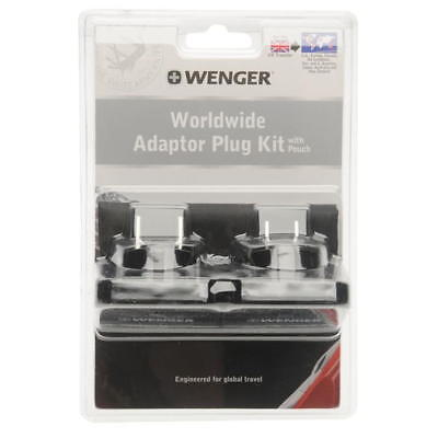 Wenger Worldwide Adaptor Plug Kit with pouch