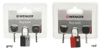 Wenger Key Lock for better baggage security