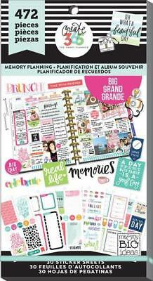 Mambi Happy Planner Create 365 Value Sticker Book . 472 Stickers! Memory Planner