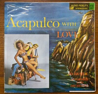 Jo Basile ACAPULCO WITH LOVE 1966 Mexico LP Audio Fidelity MINT SEALED Baselli