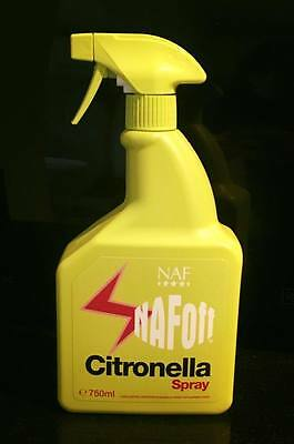 NAF Off Citronella Spray - 750ml - Horse Protection Fly Repellent FREE POST