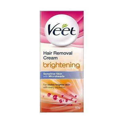 ** Veet Brightening Hair Remover Cream Sensitive Skin New ** 100G