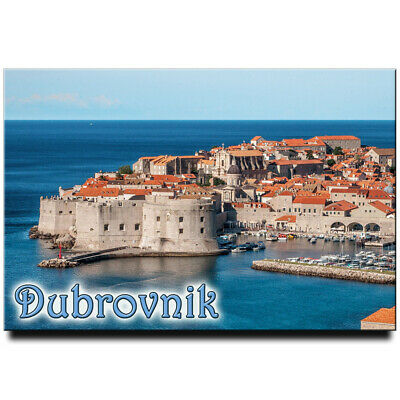 Dubrovnik fridge magnet Croatia travel souvenir