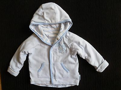 Baby clothes BOY 9-12m blue Disney Tigger lined, lightweight soft jacket hooded