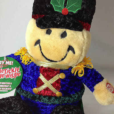 Tickle Tickle Wiggle Wiggle Christmas Electronic Plush By Dan Dee Toy Soldier