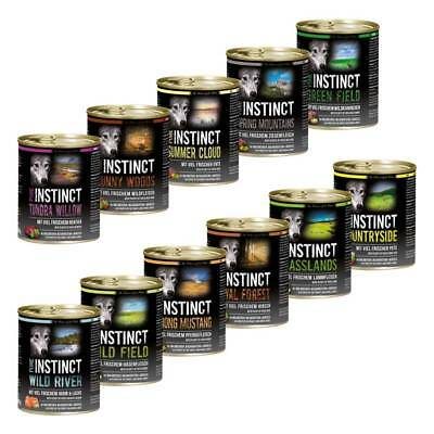 11x PURE INSTINCT All Mix 800g Dosen (8,8kg) (4,09 EUR pro kg)