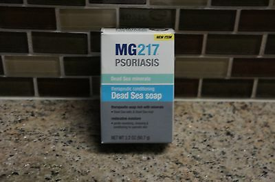 MG217 Therapeutic Conditioning Dead Sea Soap Bar, 3.2 oz