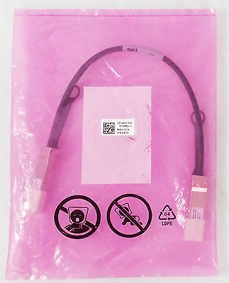 New Genuine Dell Force 10 Passive Network QS - QS 10GE 0.5M Cable 1M31V