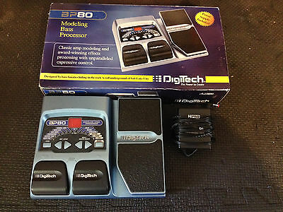 Digitech BP80 Modeling Bass Processor - FREE SHIPPING
