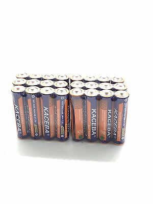 24 Pack AAA Batteries Extra Heavy Duty 1.5v. Wholesale Lot New Fresh