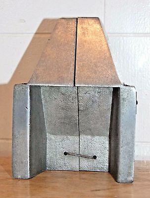 "Vintage Heatilator Fireplace Salesman Sample, Metal, Advertising, 4-1/8""x 5-3/8"""