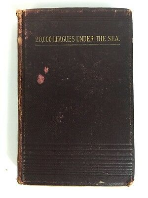 Rare Antique 20,000 Leagues Under The Sea Jules Verne Ward Lock Bowden 1891-1893